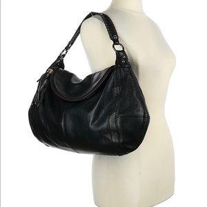 Onna Ehrlich Rachel pebbled LTHR slouchy Hobo Bag